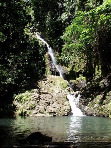 Cascade rivière six bras du fort GOYAVE GUADELOUPE