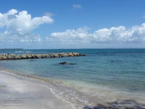plage de Roseau Guadeloupe