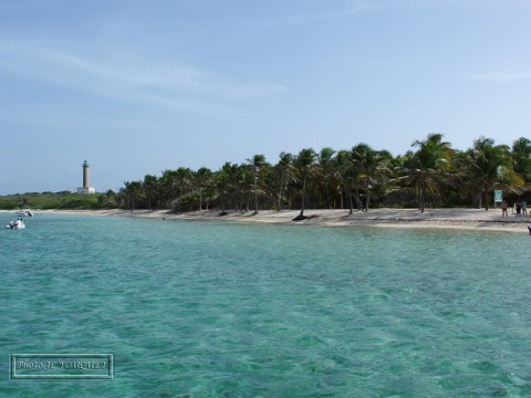 guadeloupe, petite terre, phare, plage, plamiers, aquarium, paradis