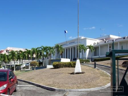 guadeloupe, basse terre, prefecture, conseil general