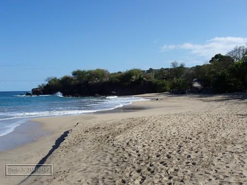 guadeloupe, karukera, basse terre, deshaies, beach, ferry, leroux, town