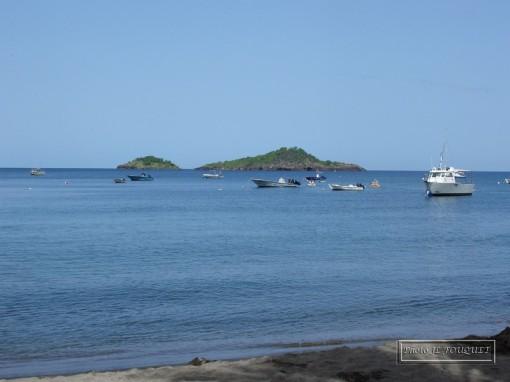 Guadeloupe, Basse Terre, Malendure, ilets, Pigeon, plage