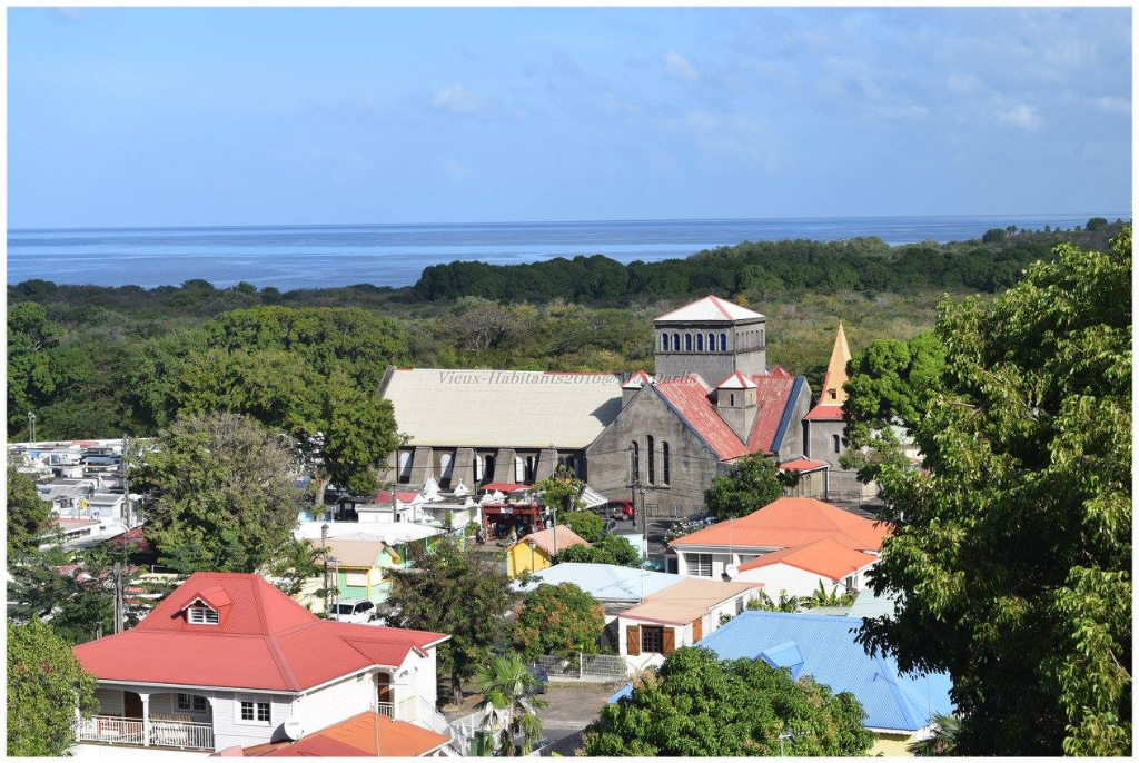VIEUX HABITANTS, old town of Guadeloupe