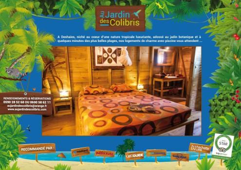 guadeloupe, deshaies, lodging dehaies, jardin des colibris, botanic garden deshaies, coluche deshaies