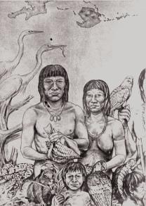 guadeloupe, amerindiens, ciboneys