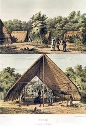 guadeloupe, amerindien, arawak, village arawak