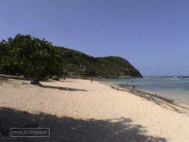 guadeloupe, petit canal, anse maurice, plage
