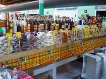 guageloupe, basse terre, shopping, marche, punch, epices, fruit, legume, artisan