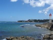 le moule, grande terre, plage, guadeloupe