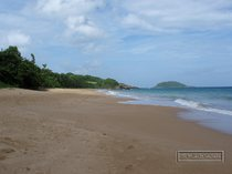 guadeloupe, clugny, plage