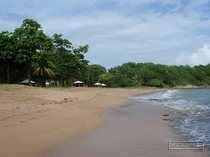 guadeloupe, beach, les amandiers