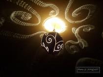 calebasse, guadeloupe, artisan, lampe
