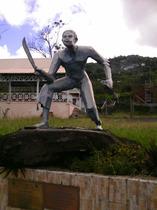 memorial de la liberte, memorial, bouillante, guadeloupe, karukera